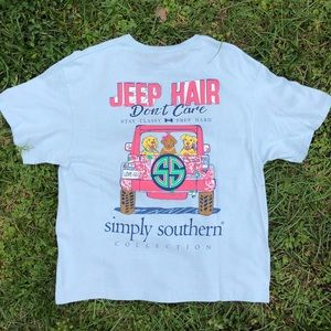 Simply southern keep hair don't care shirt